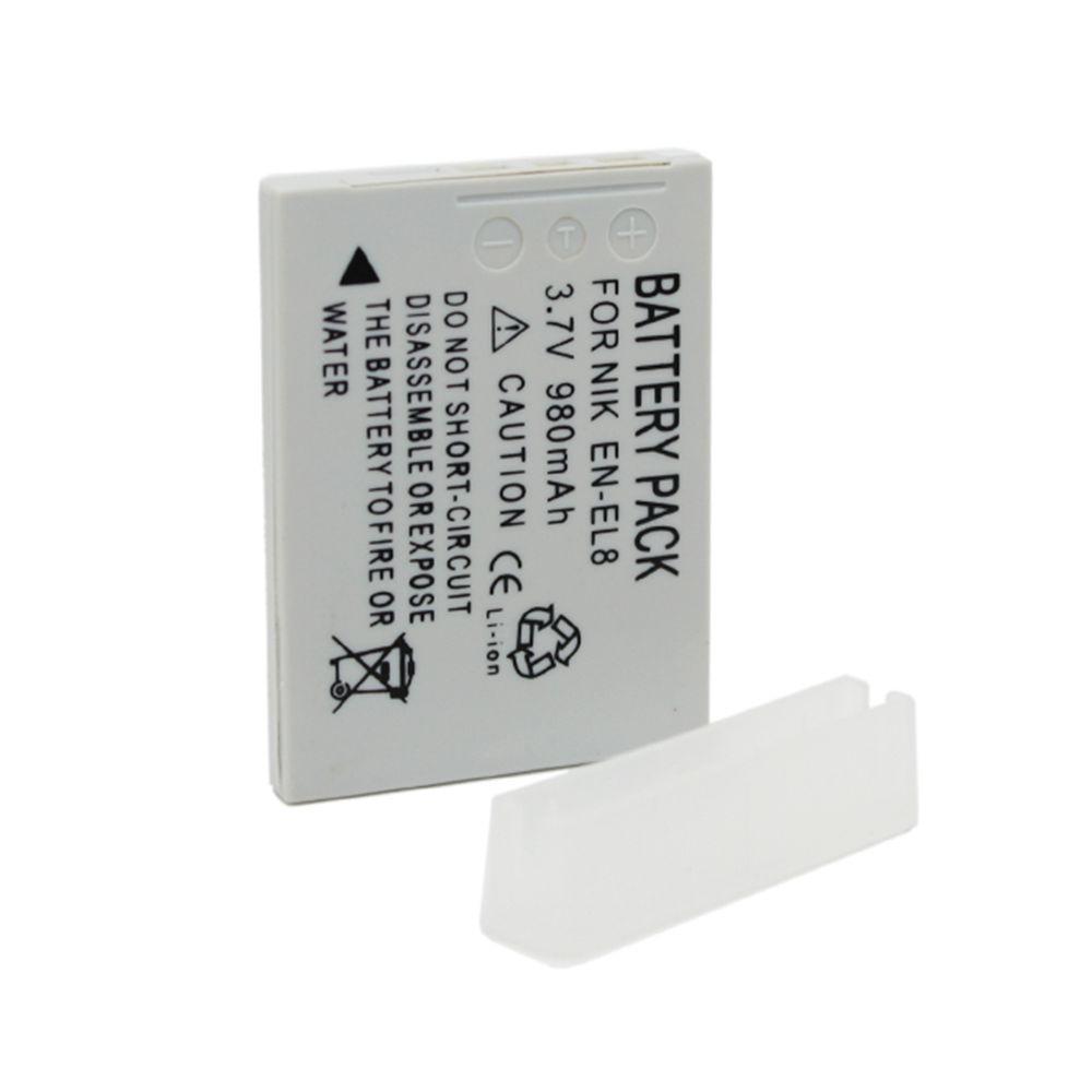Аккумулятор EN-EL8 - аналог для NIKON COOLPIX P1 P2 S1 S2 S3 S5 S6 S7 S7C S8 S9 S50 S50C S51 S51C S52- 980 ma