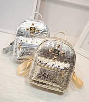 Лакированные рюкзаки под крокодил!, фото 2