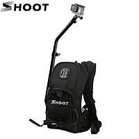Рюкзак SHOOT со штангой и креплениями для экшн-камер XIAOMI, SJCAM, GOPRO (код № XTGP403)