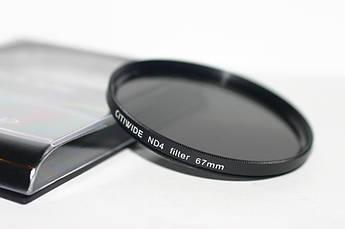Нейтрально-серый светофильтр CITIWIDE 67 мм ND4