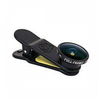 Объектив для смартфона Black Eye Full-Frame Fisheye