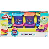 Детский набор пластилина Play-Doh A1206 Hasbro, 8 баночек