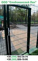 Калитка к ограждениям в порошковой окраске (покрытие - горячий цинк + ППЛ RAL6005 зеленый)