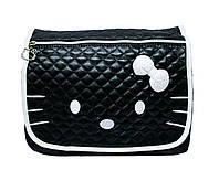 Детская сумка Hello Kitty 4 Цвета Черный (бел.) (31х27х8)