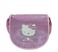 Сумка детская на плечо Hello Kitty 2 Цвета Розовый (26х25х9 см)