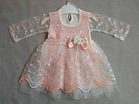 Нарядные платья для девочек от 3 до 18 мес. Турция