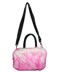 Меховая сумка 7 Цветов Розовый (25*16*10)