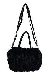 Меховая сумка 7 Цветов Черный (25*16*10)