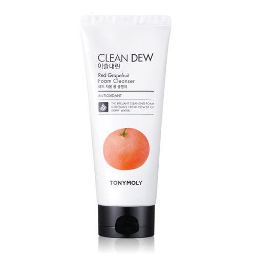 Пенка для умывания TONYMOLY Clean Dew Red Grapefruit Foam Cleanser 180мл.