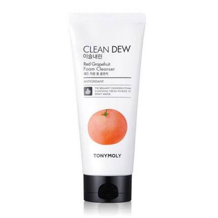 Пенка для умывания TONYMOLY Clean Dew Red Grapefruit Foam Cleanser 180мл., фото 2