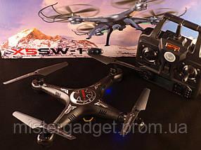 Квадрокоптер X5SW-1 режим FPV c WiFi Камера 2Mp 2.4Ghz, фото 3