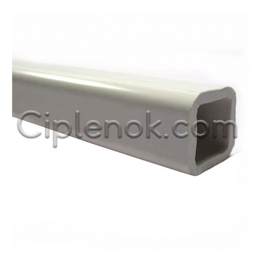 Труба ПВХ квадратная 22х22 мм Стандарт (ТР-92) 2,3-2,5мм