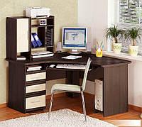 Стол компьютерный угловой с надставкой  СК-3728 755х1460х1460мм    Комфорт