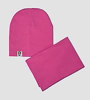 Комплект шапка и снуд для детей и взрослых