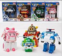 Robocar робокары. Набор из 4х героев. Эмбер, Хелли, Рой, Поли., фото 1