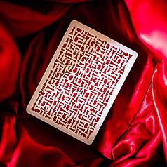 Карты игральные   Red Knights Playing Cards