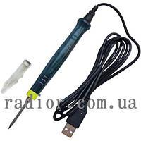 Паяльник от USB порта ZD-20U, 8W, DC-5V (13-0390)