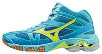 Женские кроссовки волейбольные Mizuno Wave Bolt 6 Mid (W) v1gc1765-44