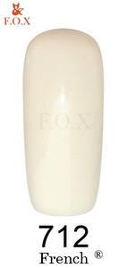 "Гель-лак FOX ""French"" №712 (Молочный) 6 мл"
