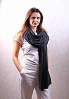 Кашемировый вуальный шарф Chadrin черный