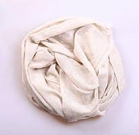 Кашемировый вуальный шарф Chadrin белый, фото 1