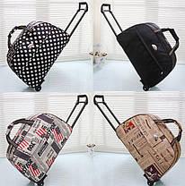 Дорожные сумки на колесах с принтами!, фото 3