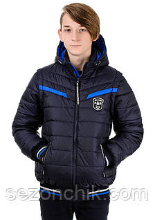 Детская куртка жилетка для мальчика подростка