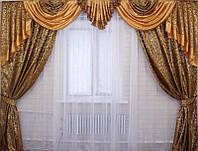 Ламбрикен и шторы фото комплект