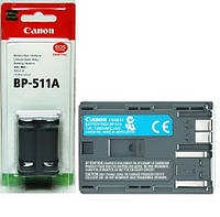 Аккумулятор для фотоаппаратов CANON 300D, 10D, 20D, 30D, 40D, 50D, 5D  - BP-511a