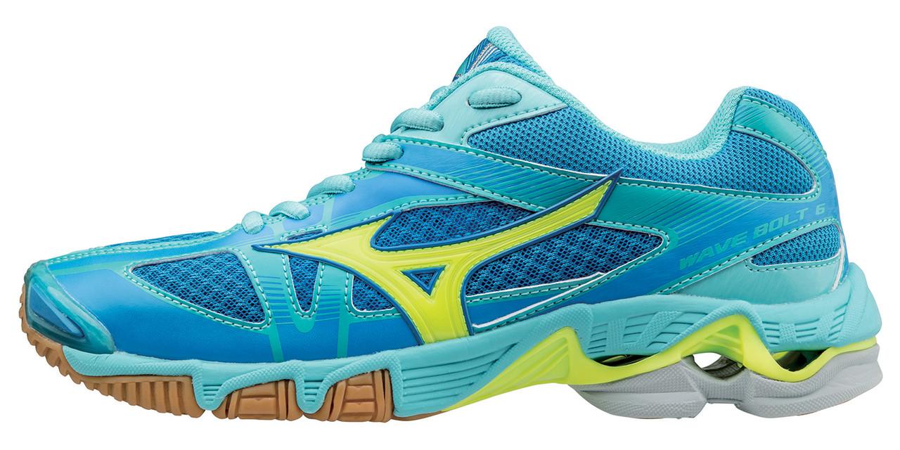 Женские кроссовки волейбольные Mizuno Wave Bolt 6 (W) v1gc1760-44