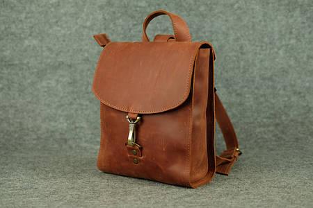 Женский рюкзачок «Венеция» mini  11922  Коньяк