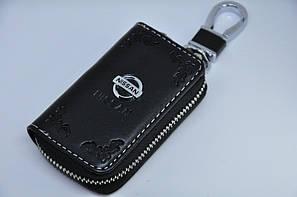 Ключниця для авто Шкіра KeyHolder NISSAN
