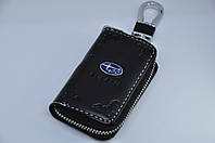 Ключница для авто Кожа KeyHolder SUBARU, фото 1