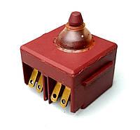 Кнопка болгарки 115 / 125 ( кубик с полозьями ), фото 1