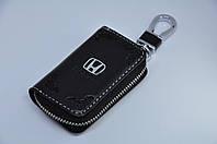 Ключниця для авто Шкіра KeyHolder HONDA, фото 1