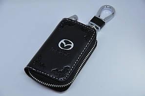 Ключниця для авто Шкіра KeyHolder MAZDA