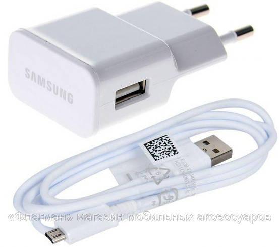Адаптер Samsung + кабель micro USB