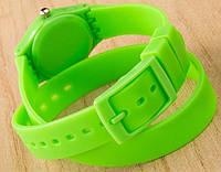 Часы-браслет на силиконовом ремешке , фото 1