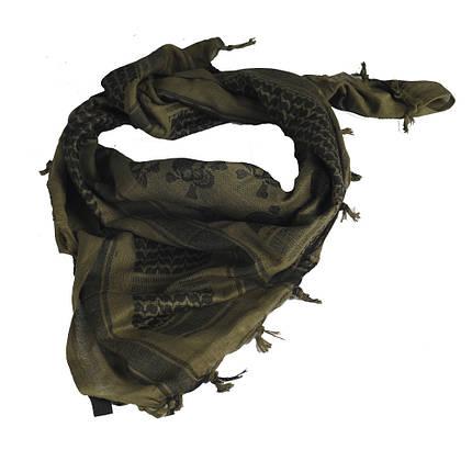 M-Tac шарф шемаг Pirate Skull Olive/Black, фото 2