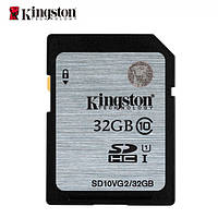 Карта памяти Kingstone Ultimate X SD HC 32 GB  (10 Class) 45 (mb/s)