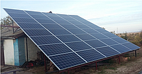 Сетевые солнечные электростанции под «зеленый» тариф мощностью от 5 до 30 кВт в с. Красногригорьевка