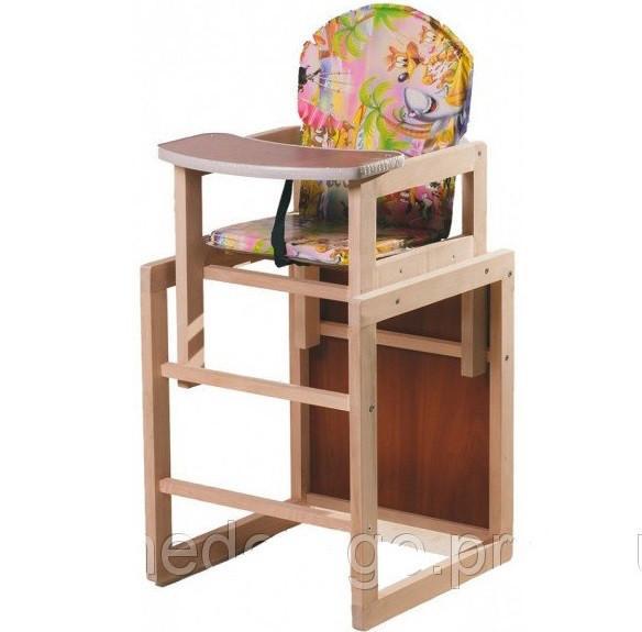 стульчик столик для кормления трансформер зайченок в категории