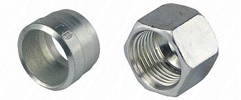 Гайка накидная кольцо врезное FI15  МОДЕЛЬНОЕ КОЛЬЦО: PN-137 16-13; NUT M22x1.5