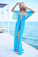Женская длинная пляжная туника