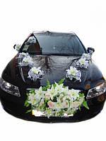 Набор Цветы + Лилии на присосках. Цвет белыйl