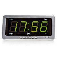 Часы Caixing СХ 2159 настенно настольные от 220 и 12 В