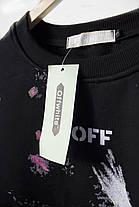 Свитшот Off-white Black (ориг.бирка), фото 2