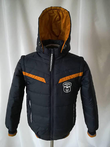 Весенняя куртка для мальчика отстежные рукава