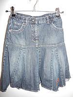 Юбка джинсовая подростковая 40-42р. 013юж
