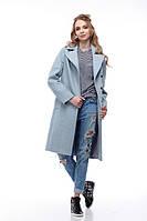 Пальто женское Монреаль аквамарин